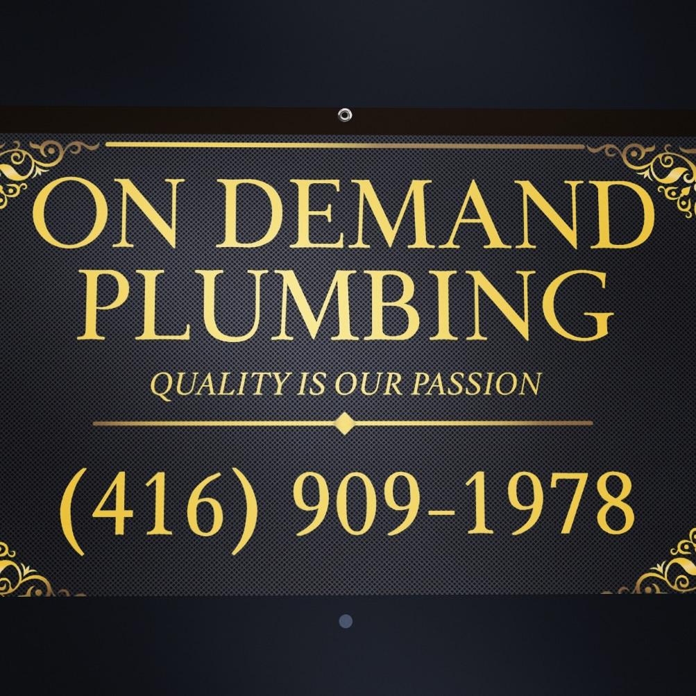 On Demand Plumbing