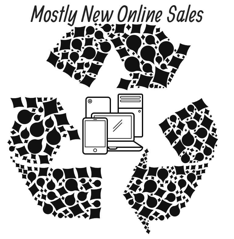 Mostly New Online Sales