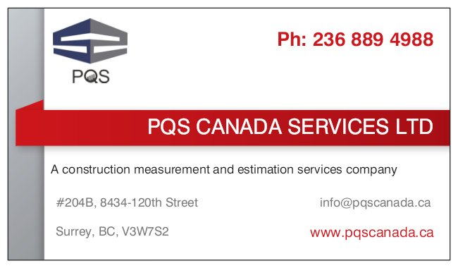 PQS CANADA SERVICES LTD