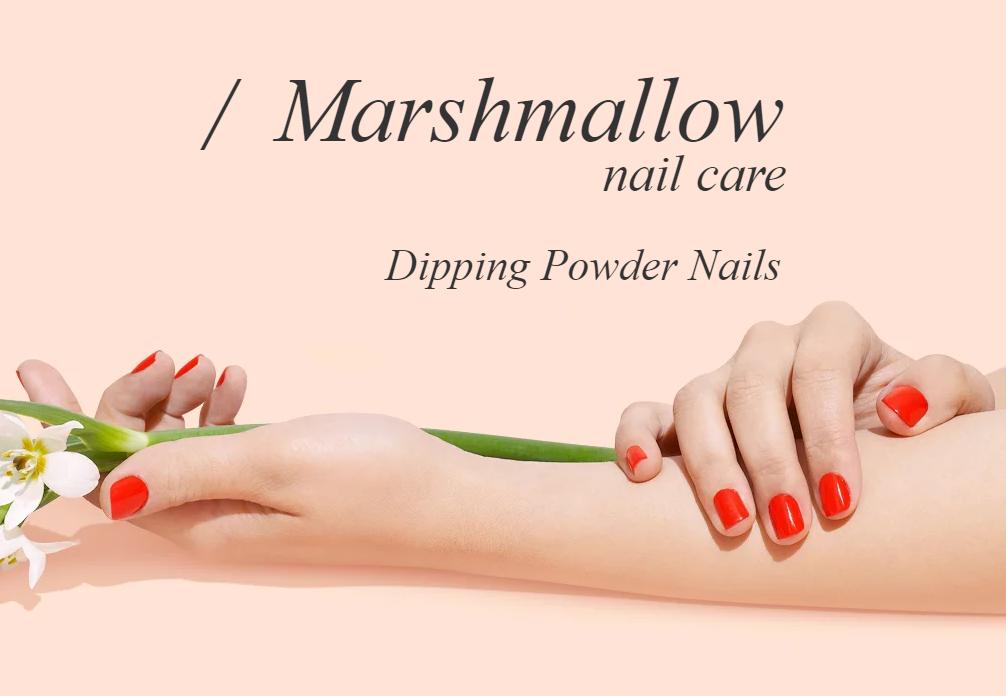marshmallow nail care