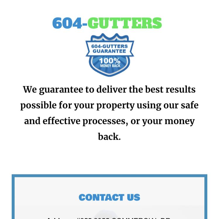 604 GUTTERS