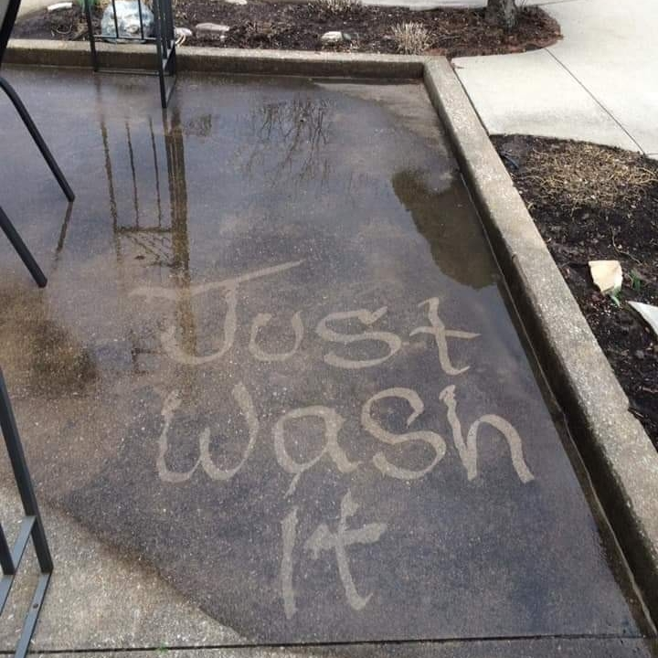 Just Wash It Exterior Home Cleaning
