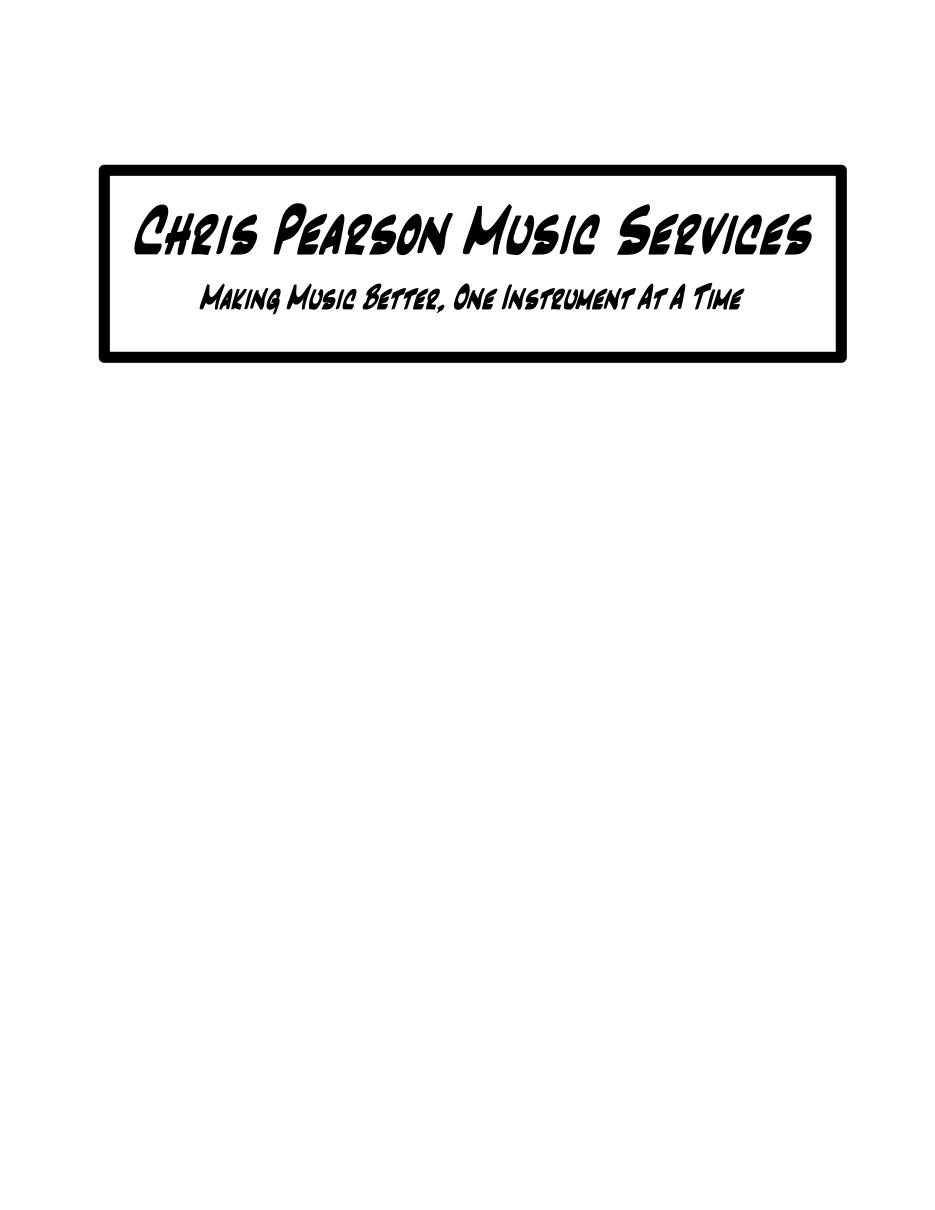 Chris Pearson Music Services