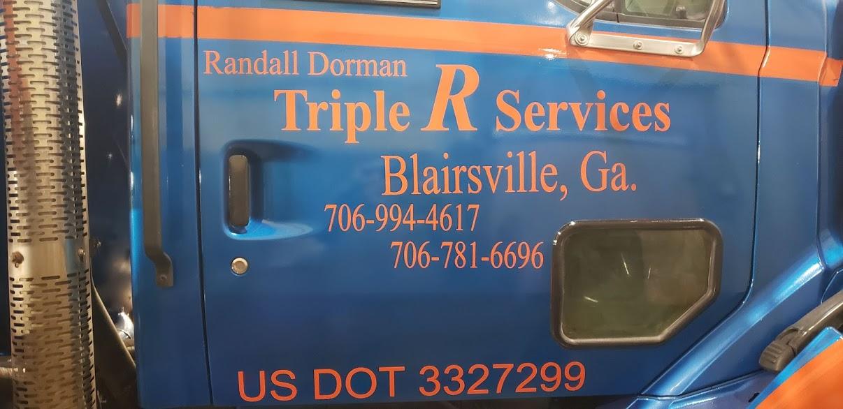 Triple R services septic pumping & repair