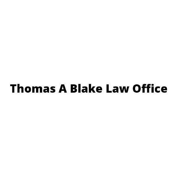 Thomas A Blake Law Office