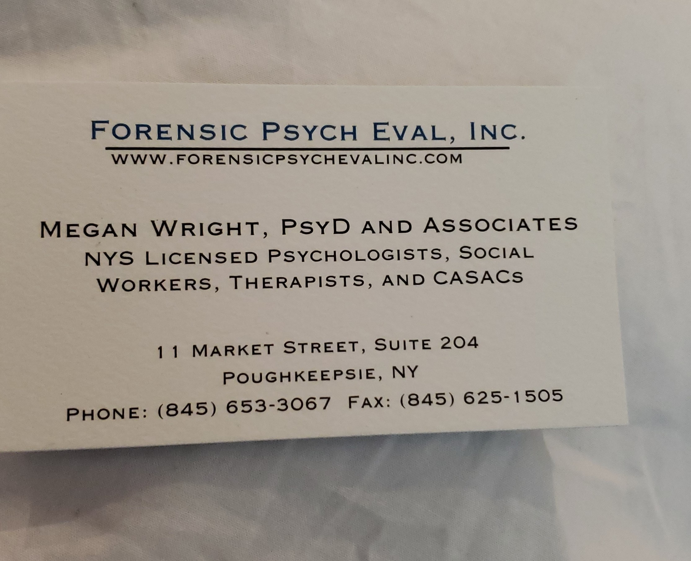 Forensic Psych Eval Inc.