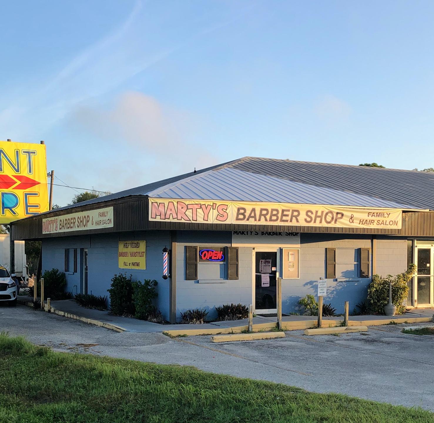 Marty's Barber Shop