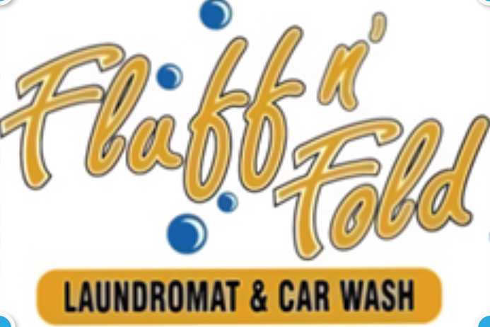 Fluff 'n Fold laundromat and carwash