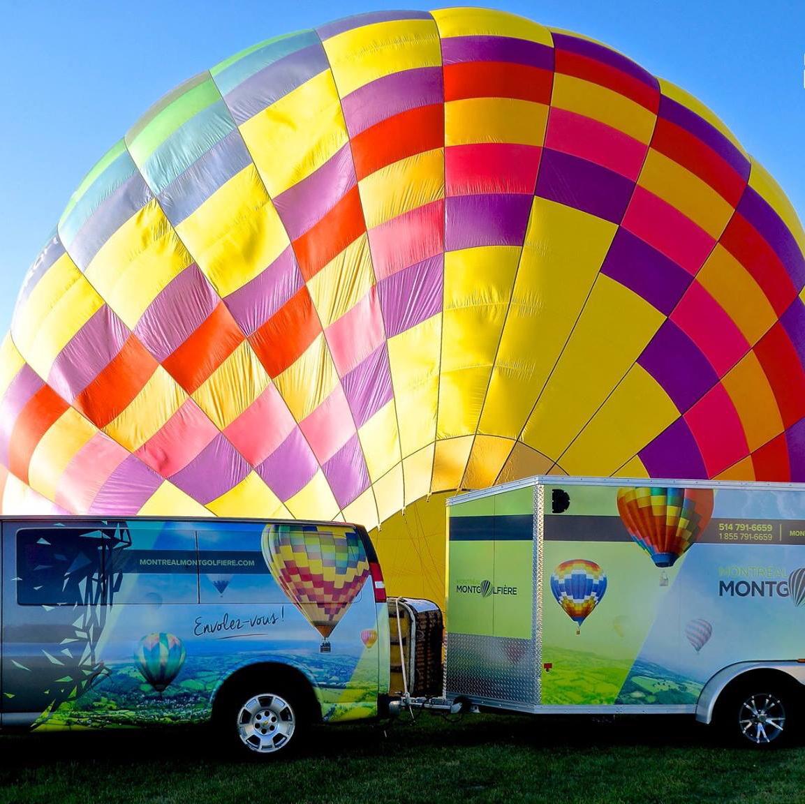 Montréal montgolfière