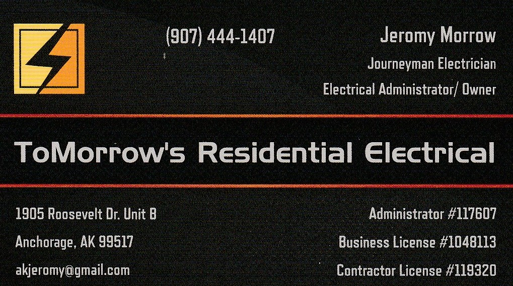 ToMorrow's Residential Electrical