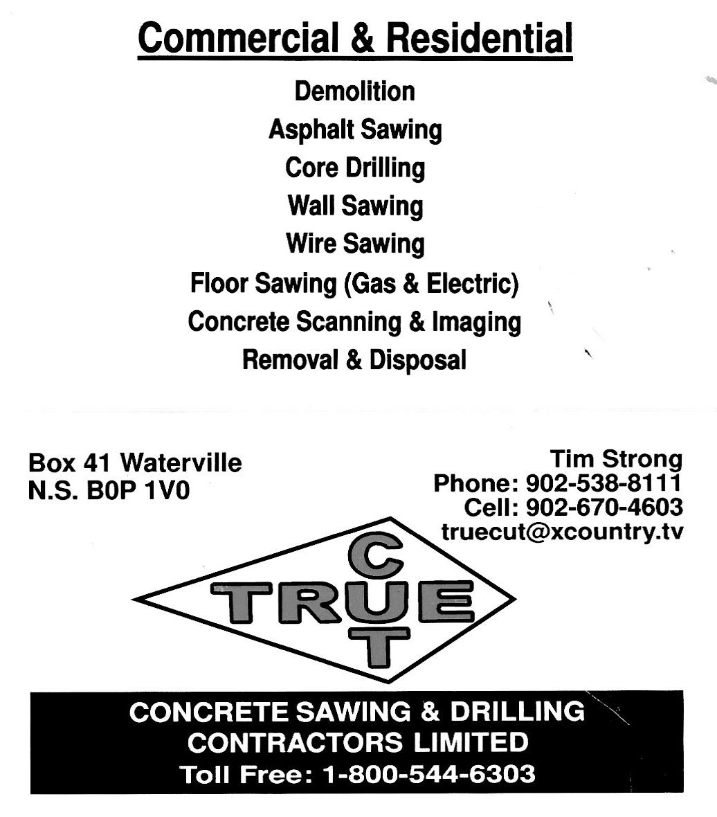 TrueCut Concrete Sawing & Drilling