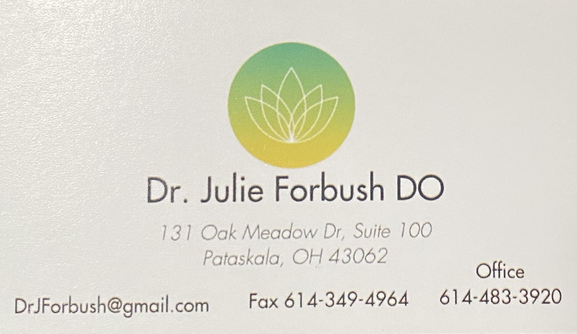 Dr. Julie Forbush DO