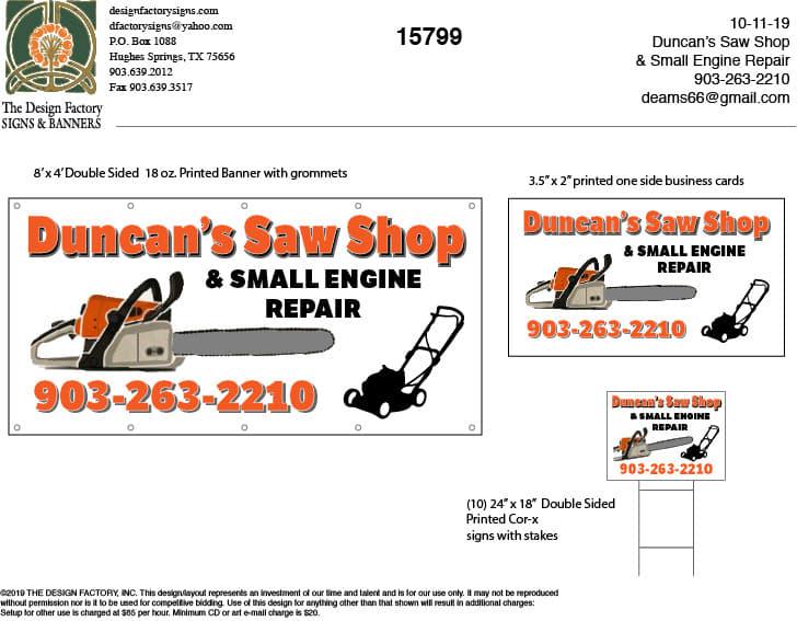 duncan's saw shop