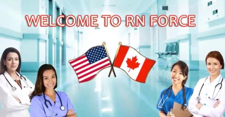RN Force - NCLEX Nurse's Exam Process & Endorsement Process.