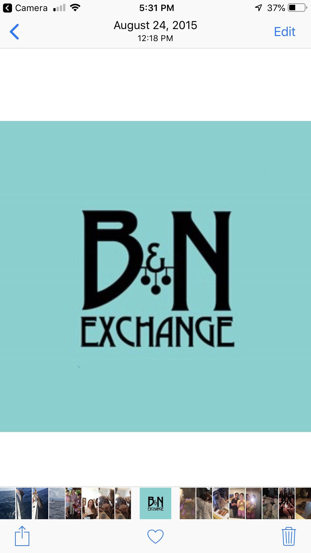 B & N Exchange