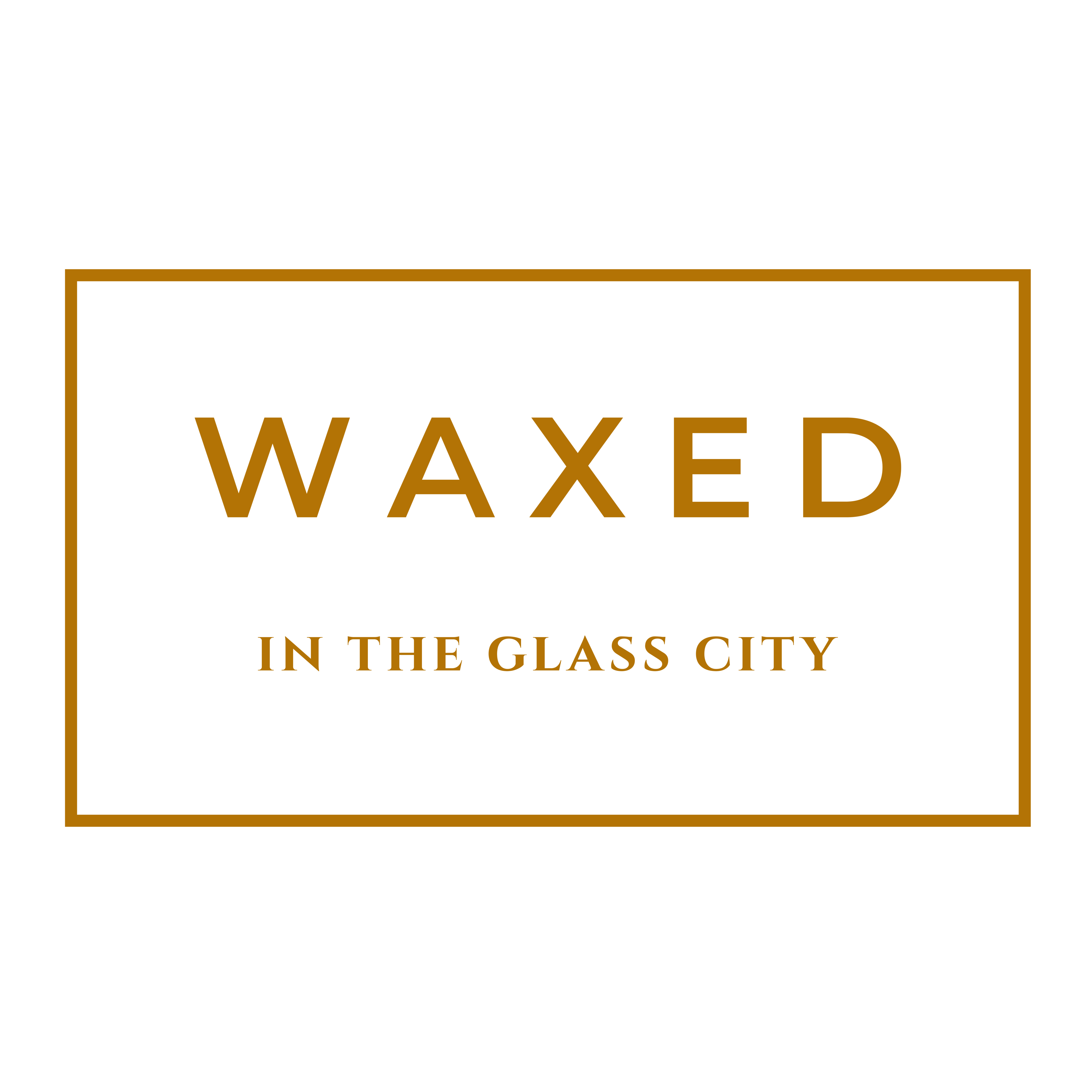 WAXED in the glass city
