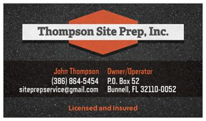 Thompson Site Prep Inc.