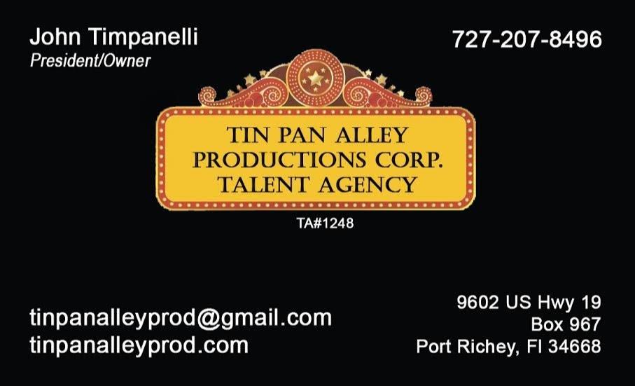 Tin Pan Alley Talent Agency LLC