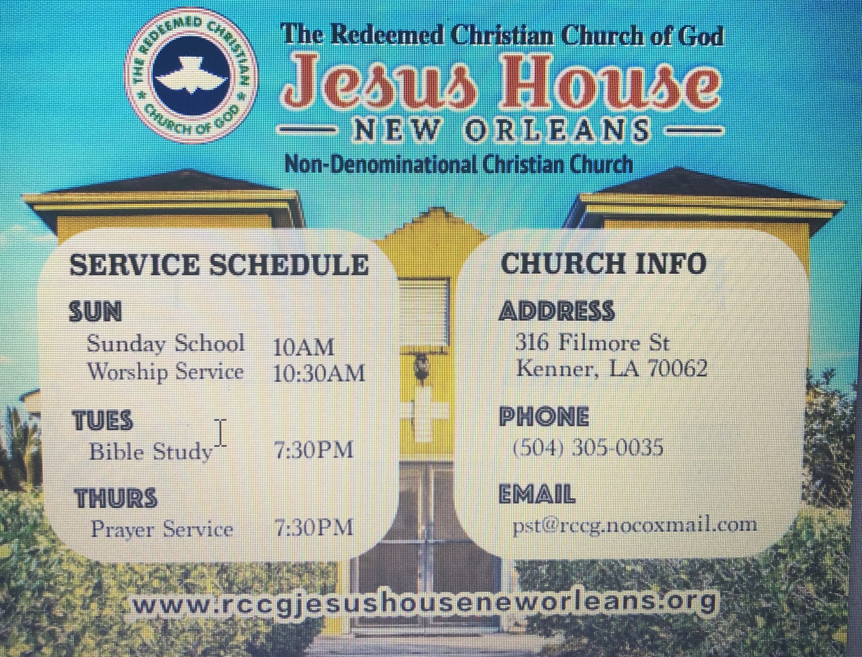 Jesus House New Orleans