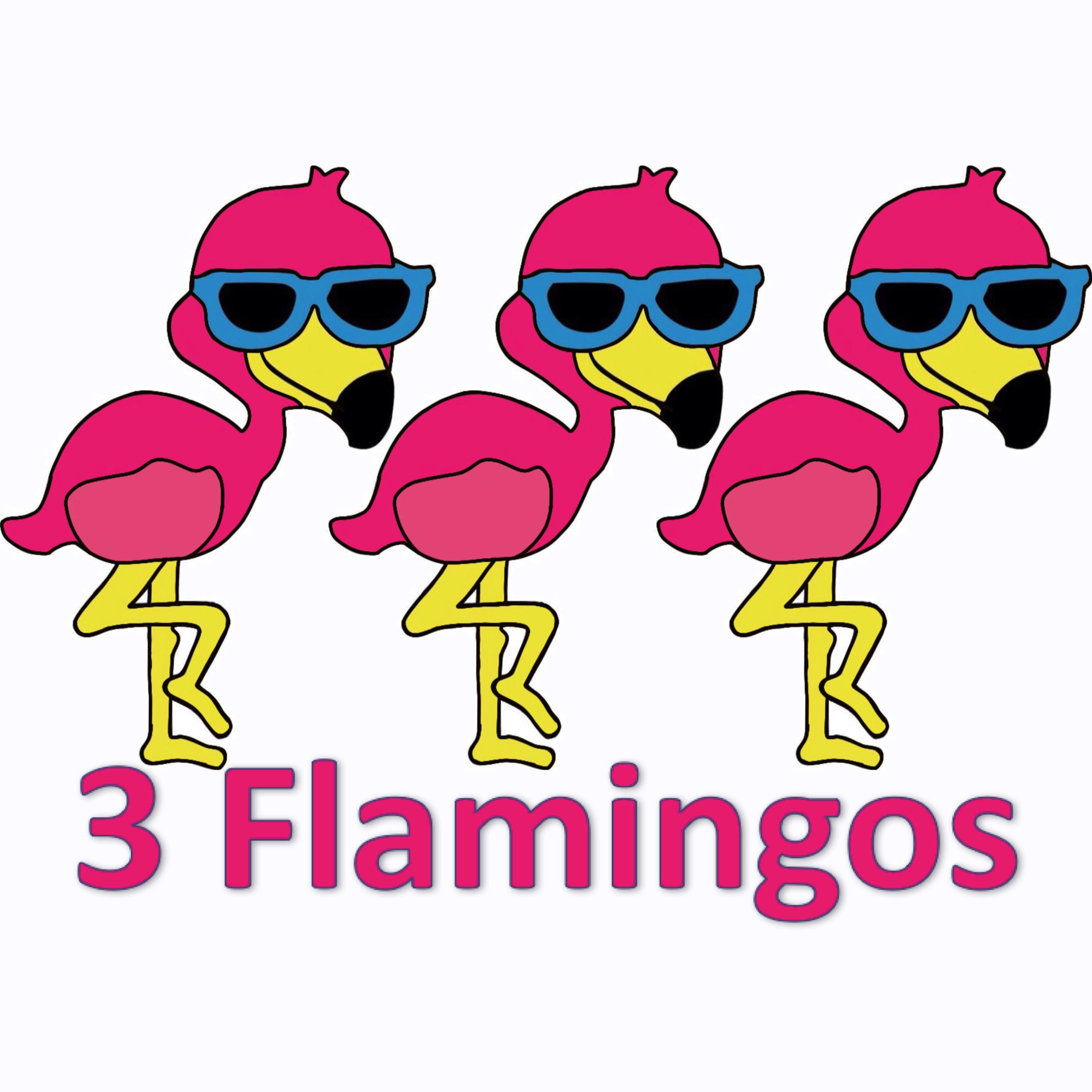 3 Flamingos Frozen Yogurt