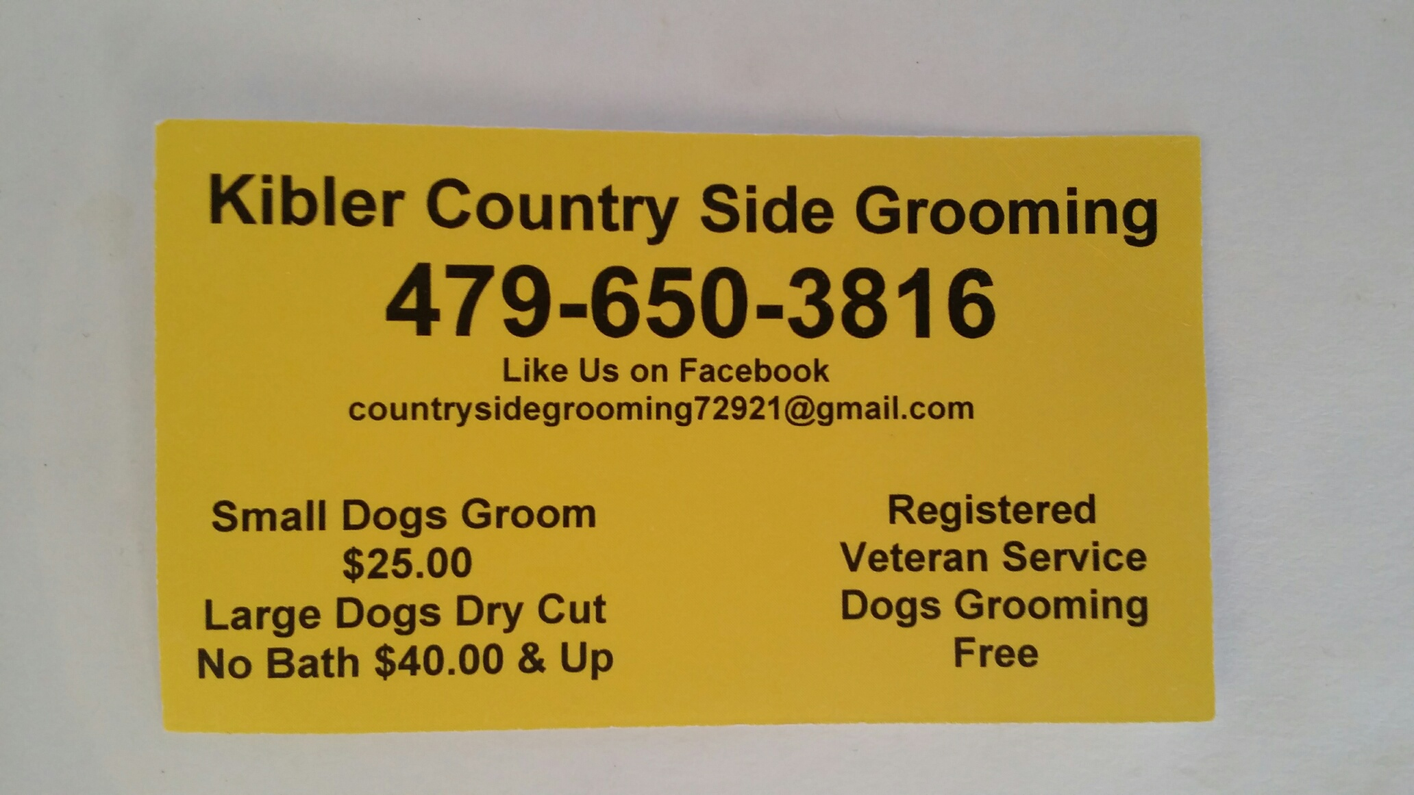 Image 1 | Kibler Country Side Grooming