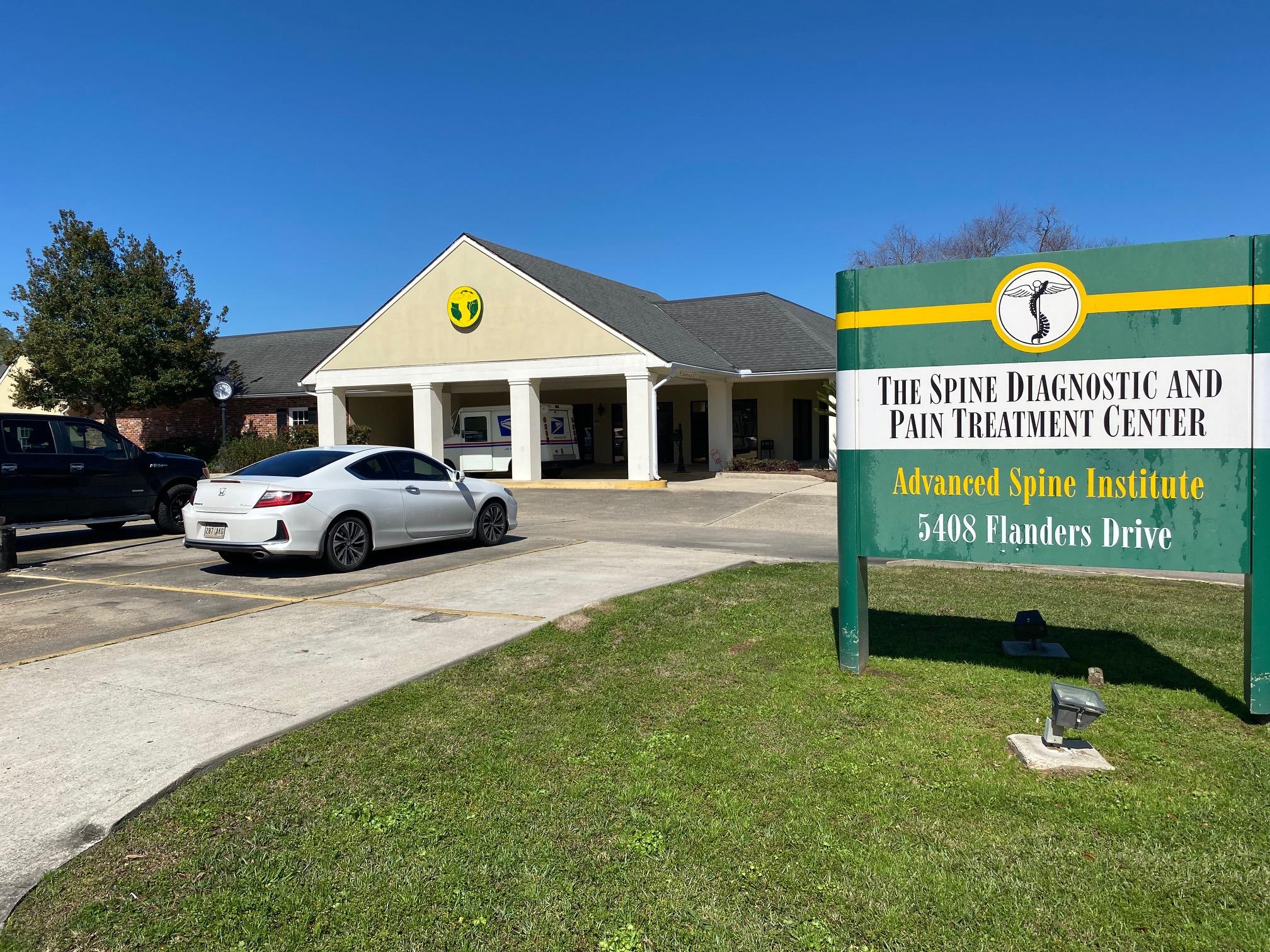 The Spine Diagnostic & Pain Treatment Center - Baton Rouge