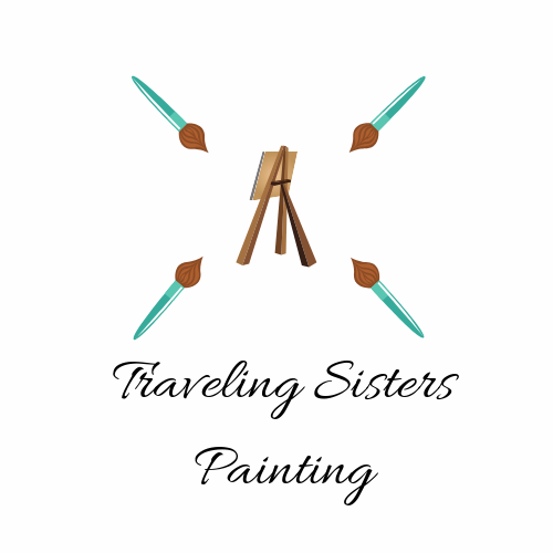 Traveling Sisters Painting