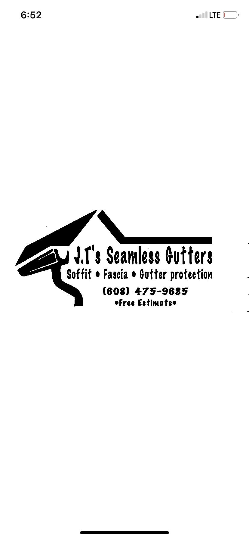 Jt's seamless gutters