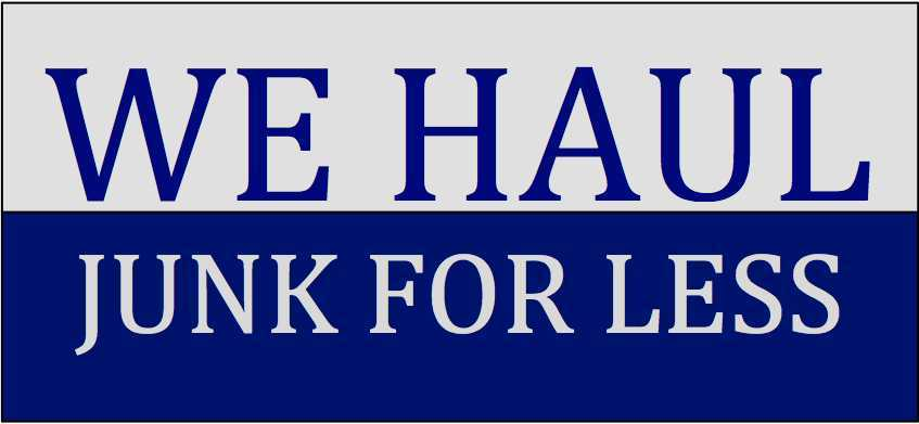 We Haul Junk For less