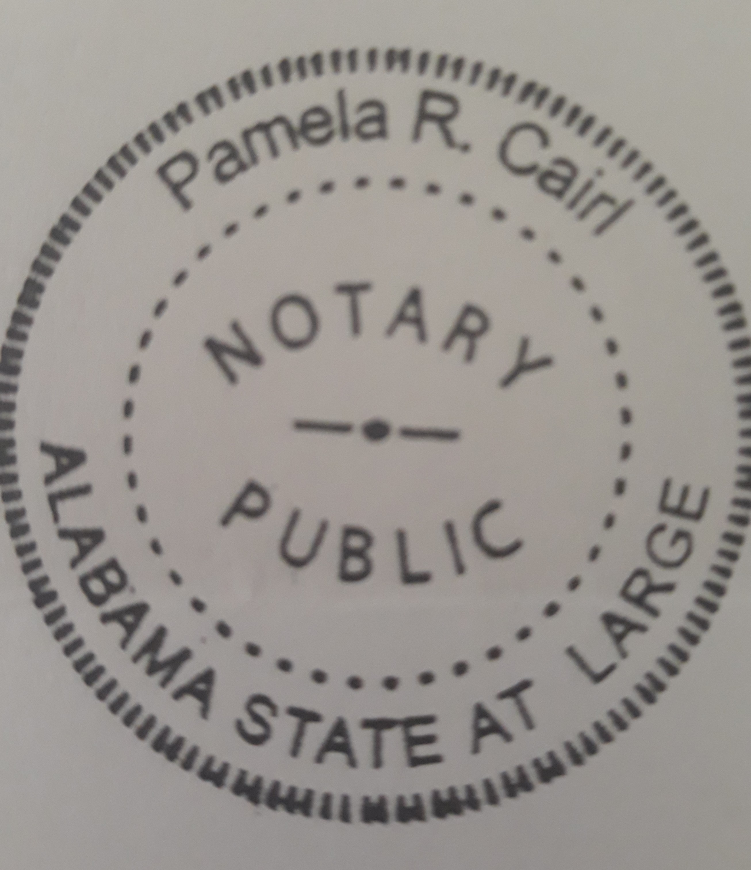 Pamela Cairl Bookkeeping/Notary Public Services/Notary Signing Agent