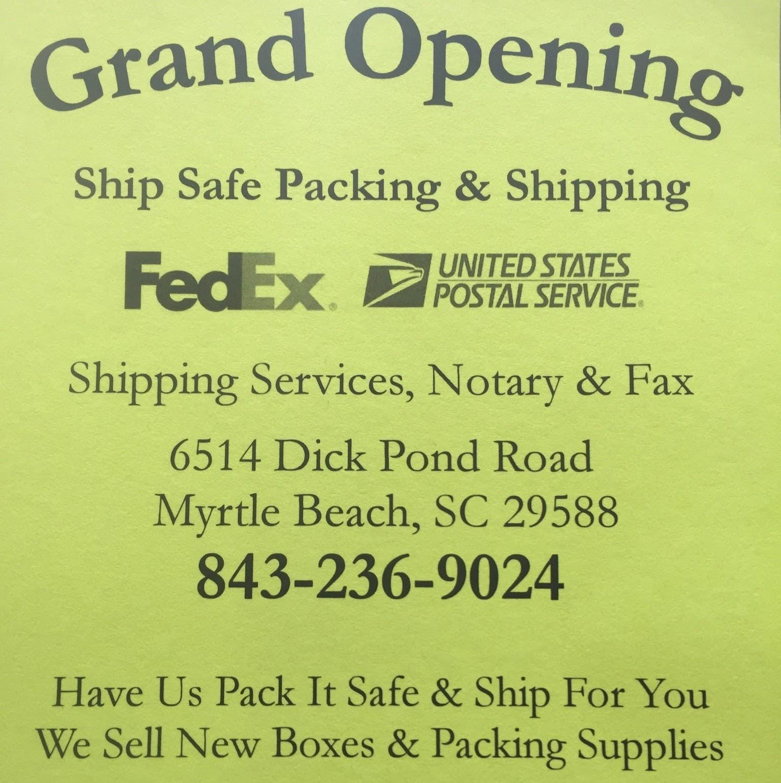 Ship Safe Packing & Shipping