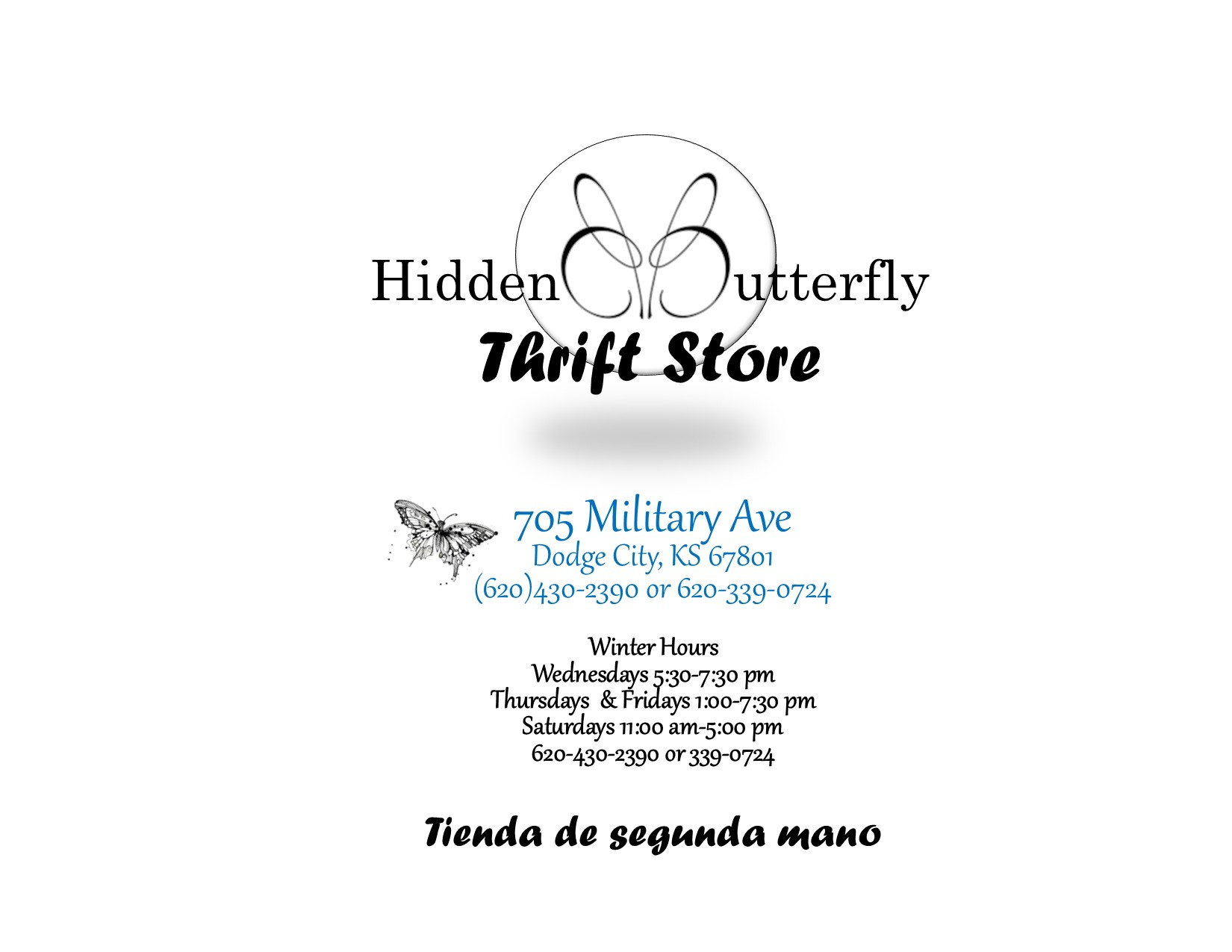 Hidden Butterfly Thrift Store