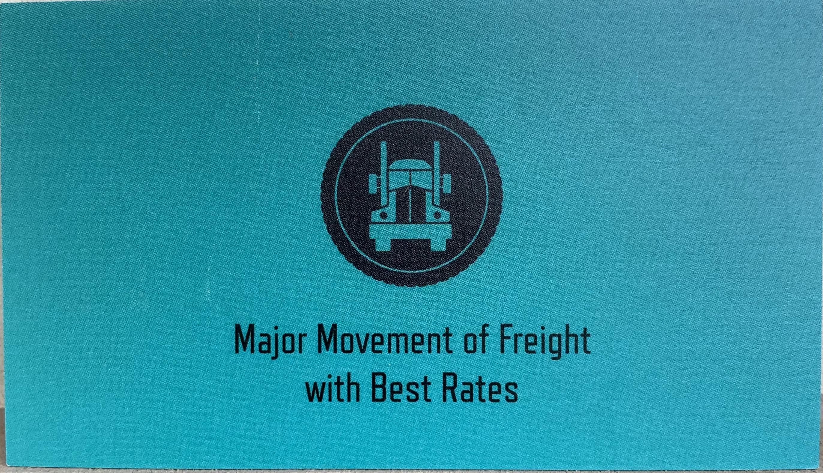 Major Movement Logistics LLC