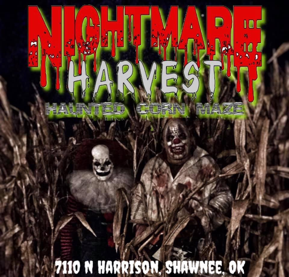 Nightmare Harvest Haunted Corn Maze