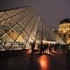 Louvre Museum New Wing, Paris, France.