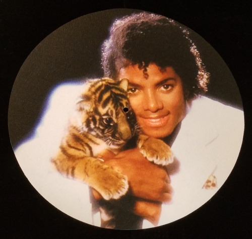Michael Jackson Tiger Cub New Single Slipmat Thriller Off