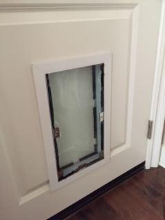 Hale Pet Door - Door Installation