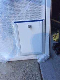 Hale Pet Door in a Security Door