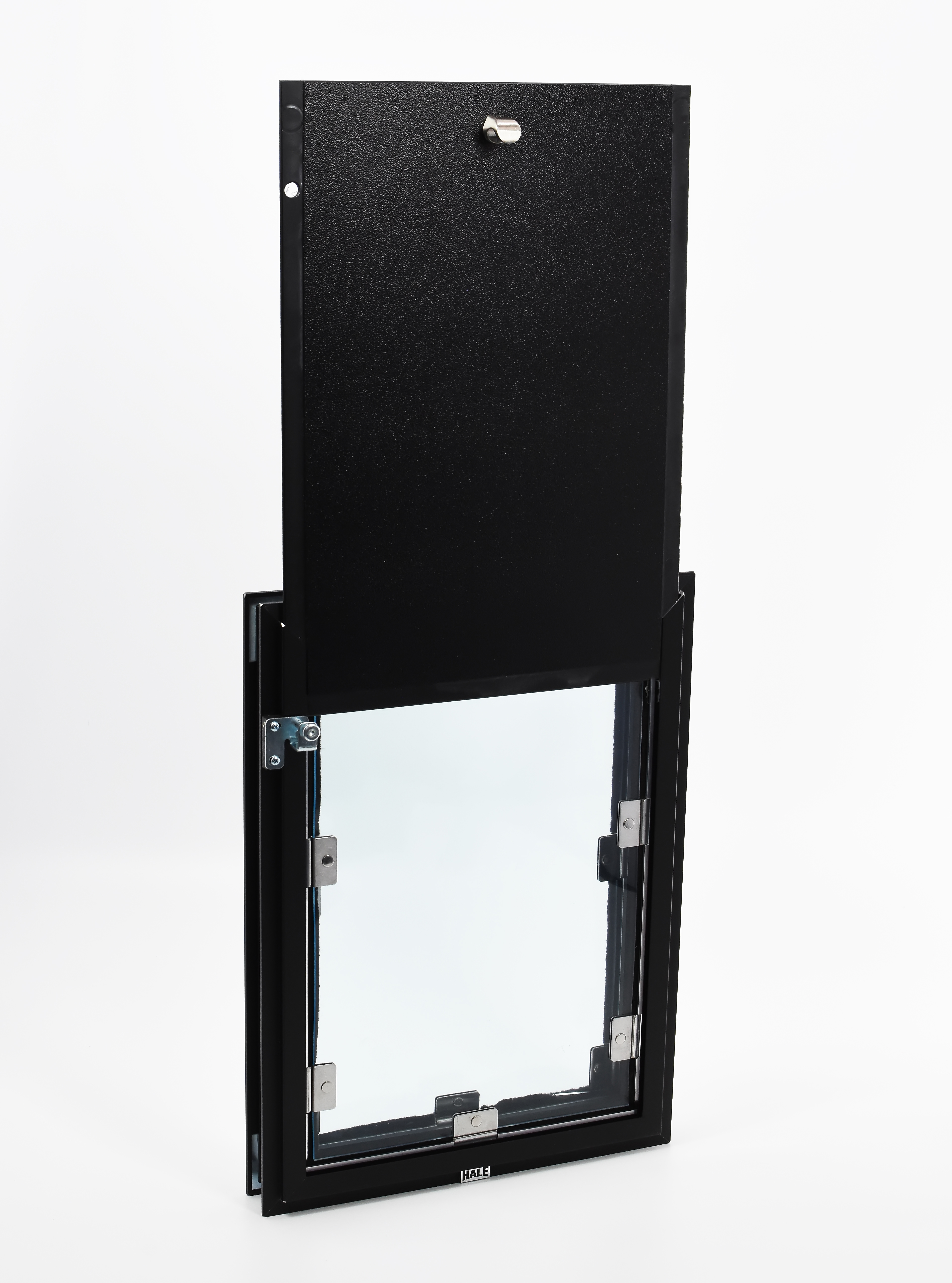 Hale Pet Door Door Model-Dark Bronze-Interior View
