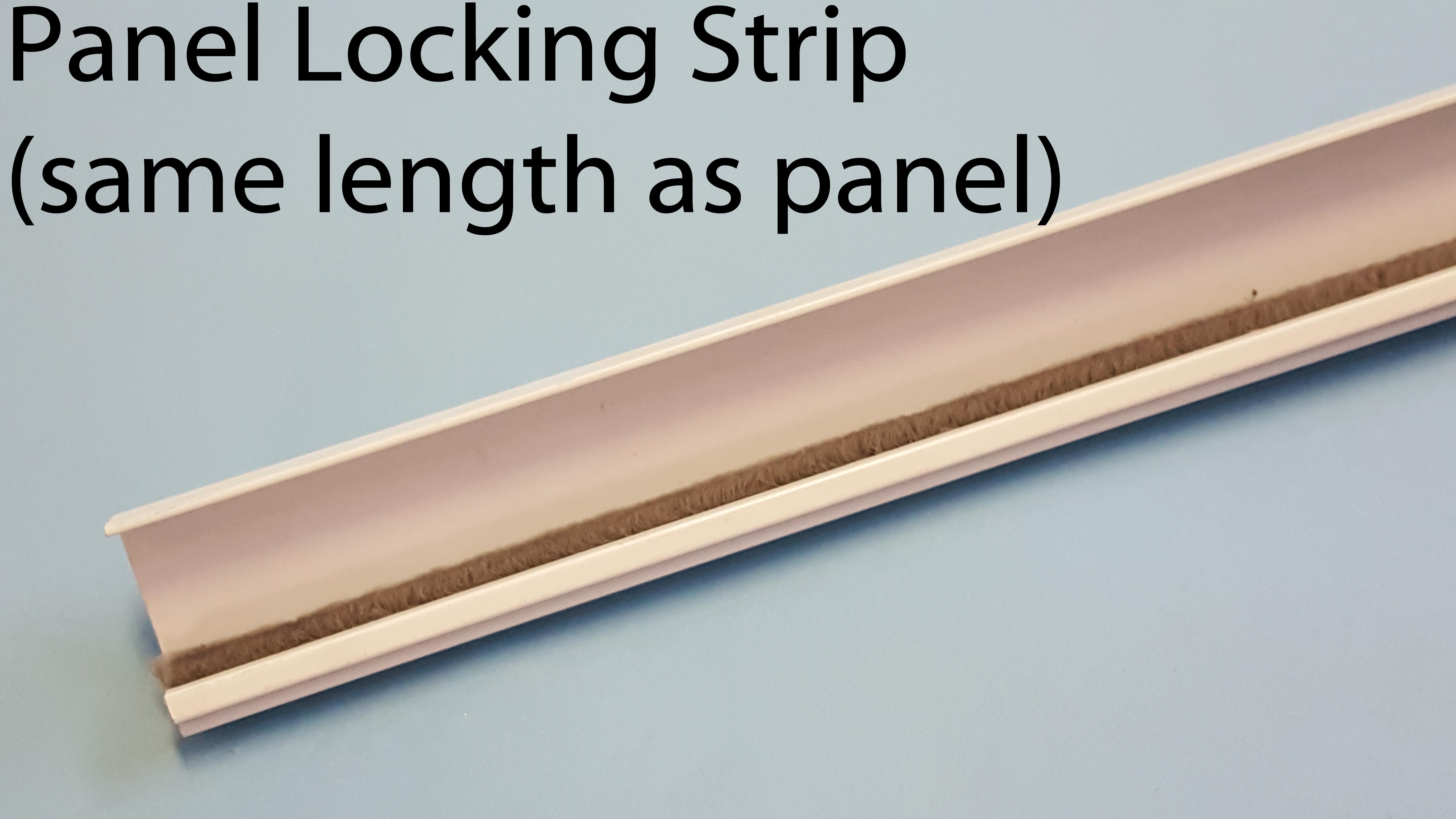 Hale Pet Door Standard Panel Locking Strip
