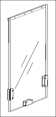 Hale Pet Door flap technical drawing