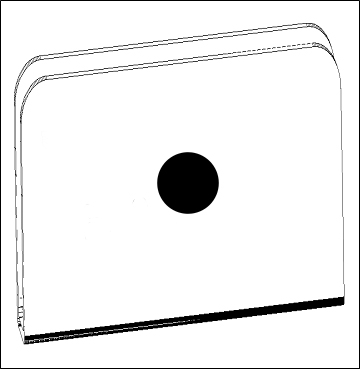 Hale Pet Door Flap Strikes Technical Drawing