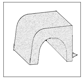 Hale Pet Door Knob Technical Drawing