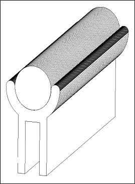 Hale Pet Door Alnico Magnet Technical Drawing