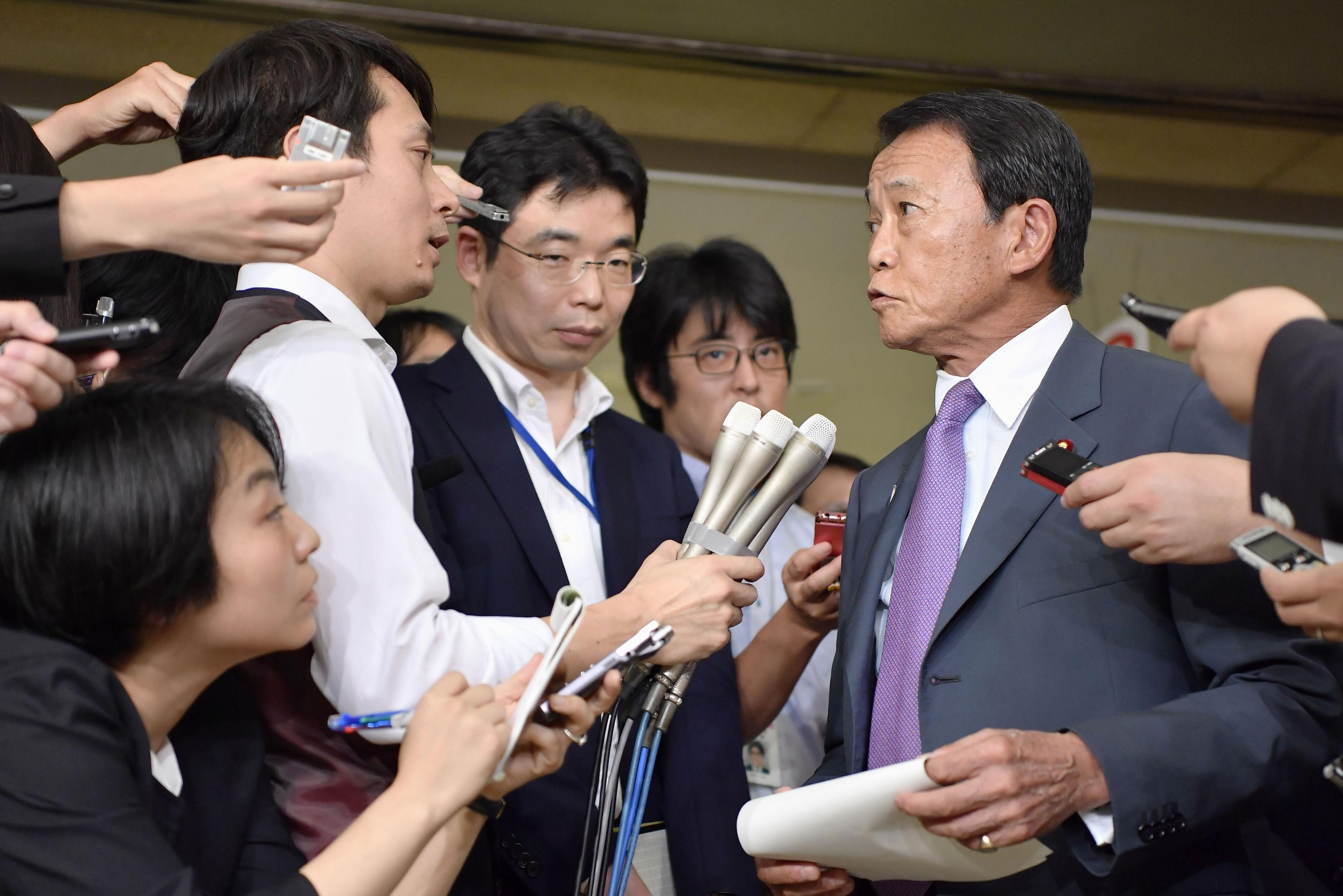 Deputy PM Aso retracts remark on Hitler's Holocaust motive