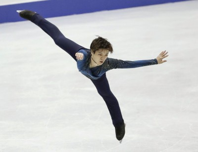 Figure skating: Uno at NHK Trophy