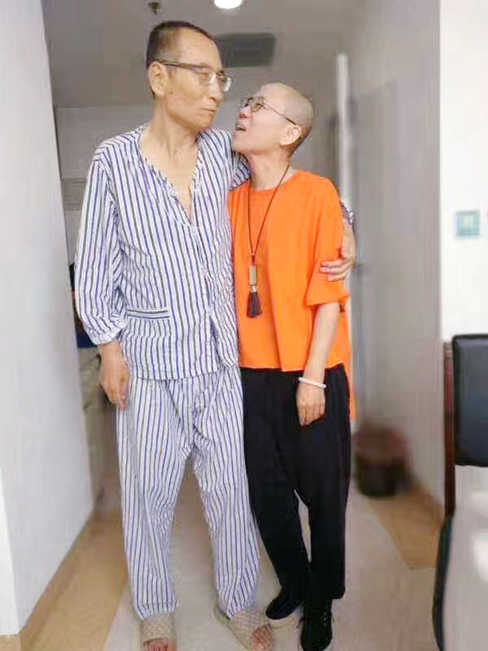 Liu Xiaobo & Liu Xia (Supplied Image)