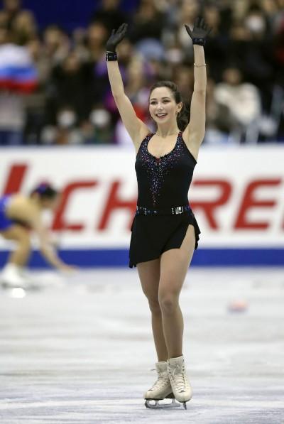NHK Trophy Figure Skating Elizaveta Tuktamysheva