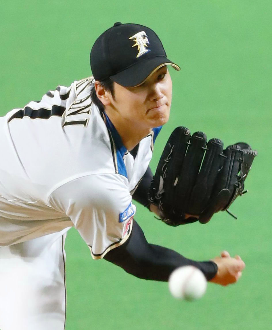 Baseball: Fighters' ace Otani flashes heat on comeback trail
