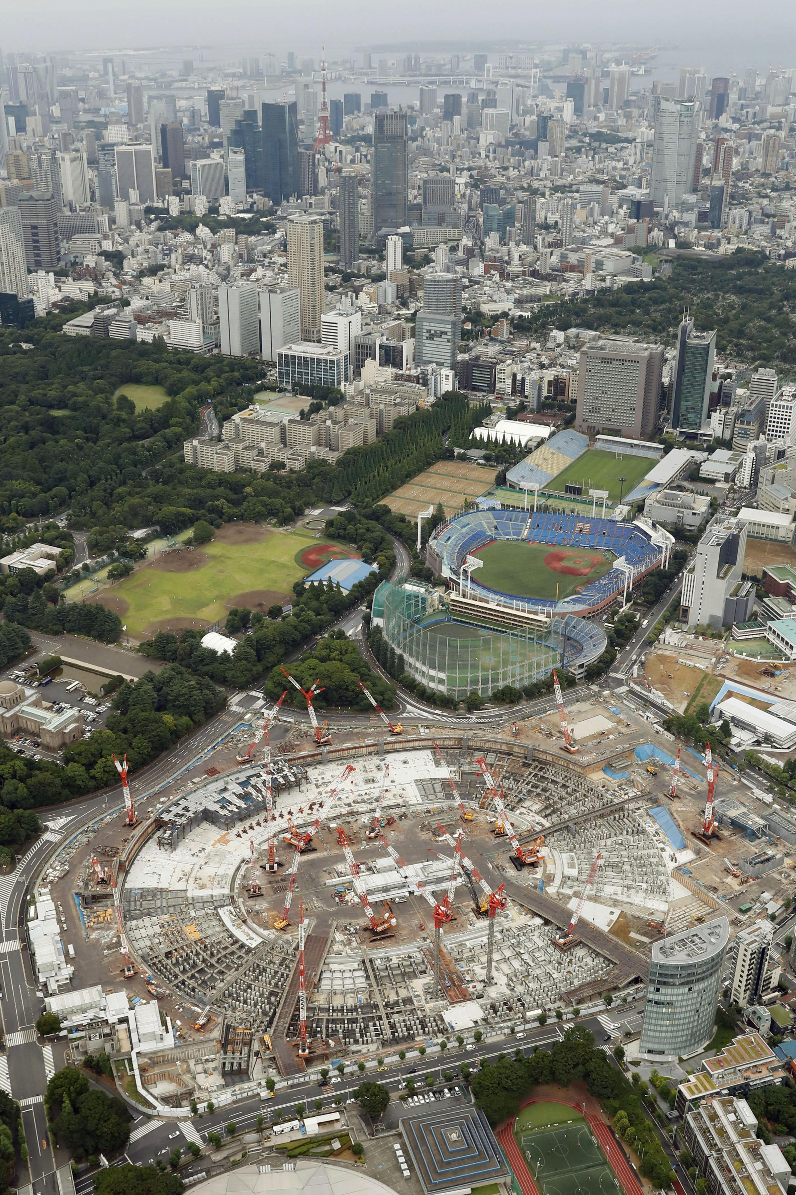 3 yrs until start of Tokyo Olympics